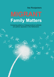 Migrant family matters. Comparing patterns of intergenerational solidarity and partner separation in the Netherlands